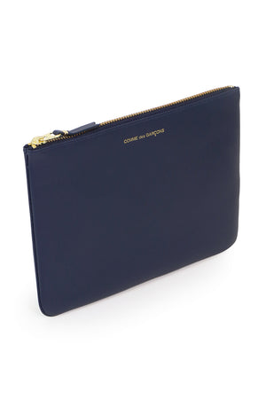 CLASSIC LEATHER POUCH NAVY