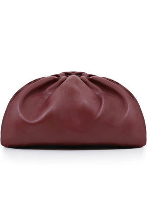 THE POUCH SMOOTH LEATHER BORDEAUX