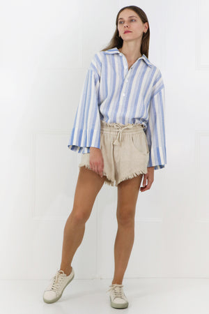 TALAPIZ MINI SHORTS ECRU