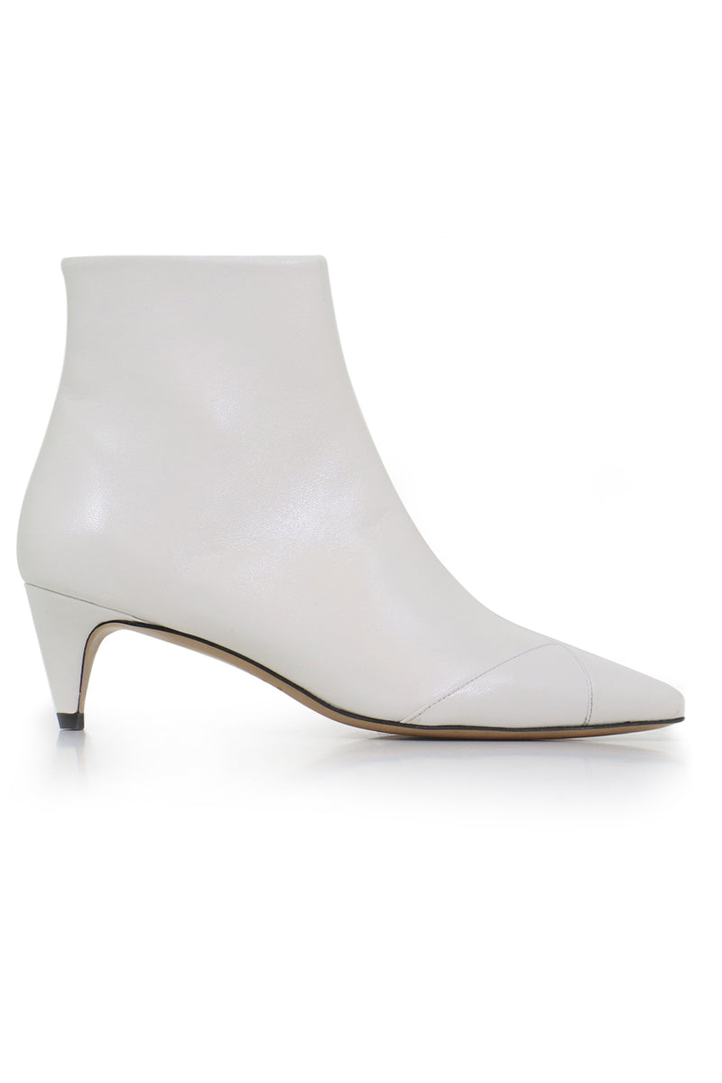 DURFEE ANKLE BOOT WHITE