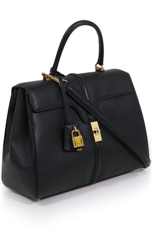 MEDIUM SEIZE 16 BAG BLACK