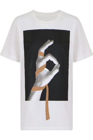 GRAPHIC T-SHIRT S/S WHITE