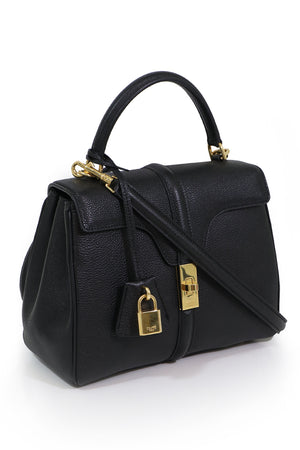SMALL SEIZE 16 BAG BLACK