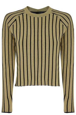 METALLIC SWEATER GOLD