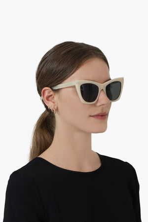 SIGNATURE BUTTERFLY SUNGLASSES BEIGE