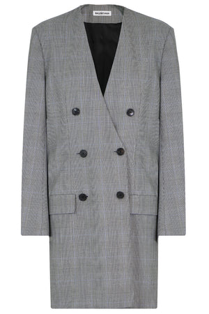 PRINCE OF WALES BLAZER DRESS BLACK/WHITE