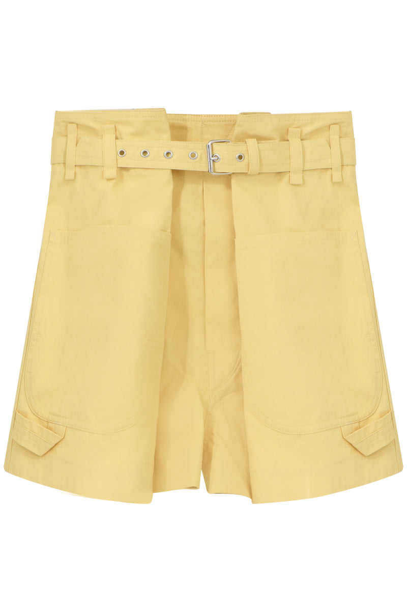 IKE MINI SHORTS YELLOW