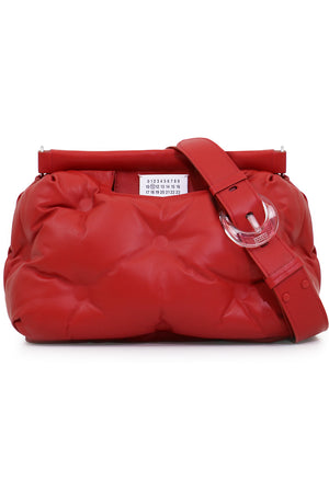 GLAM SLAM QUILTED BAG RED