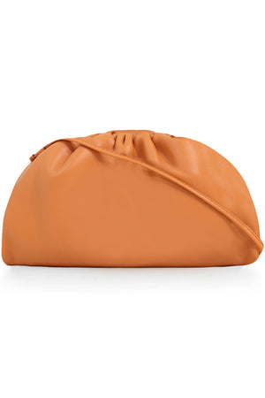 THE POUCH 20 SMOOTH LEATHER CLAY