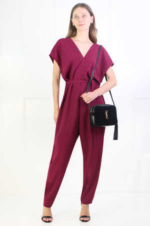 FLUID EASY V JUMPSUIT RASPBERRY