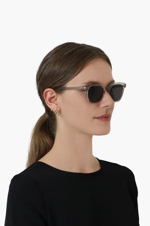 KATE CAT EYE SUNGLASSES ECRU