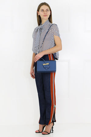SIDE STRIPE ZIP PANT DENIM