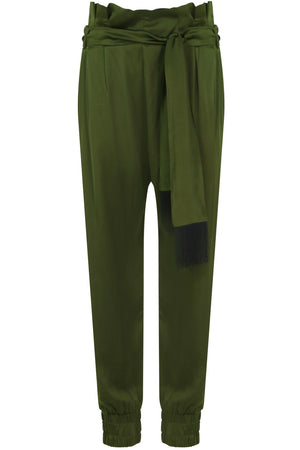 NANCY JOGGER PANT FOREST GREEN