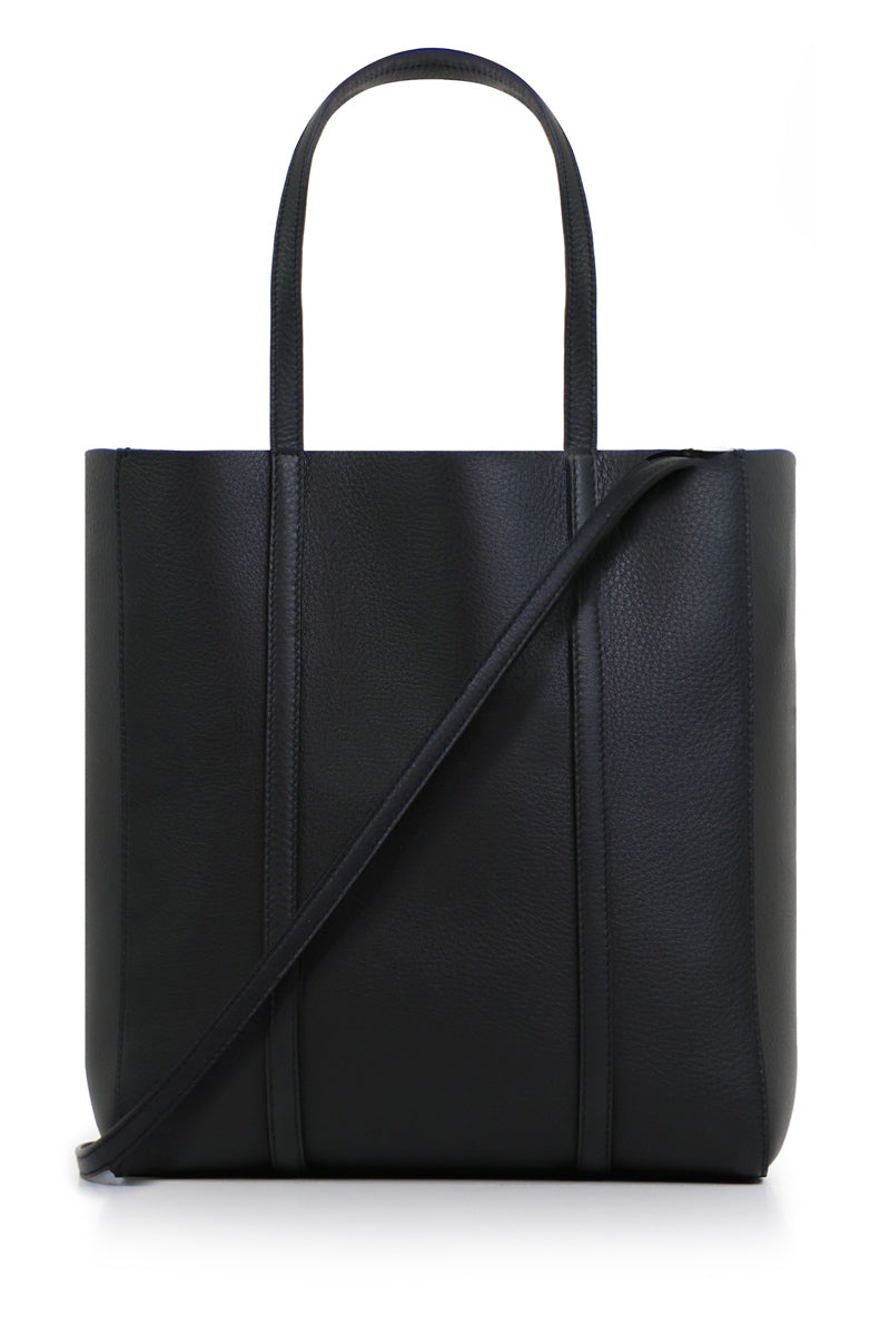 XS EVERYDAY LOGO SHOPPER BLACK