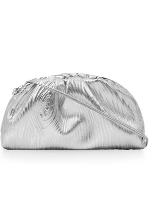 THE POUCH 20 METALLIC SILVER BARK