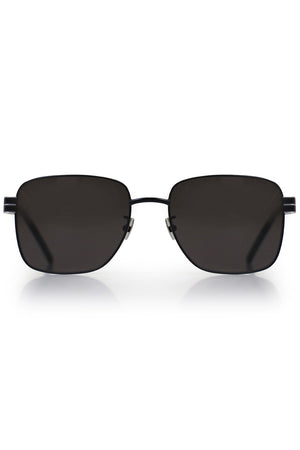 M55 SQUARE METAL SUNGLASSES BLACK