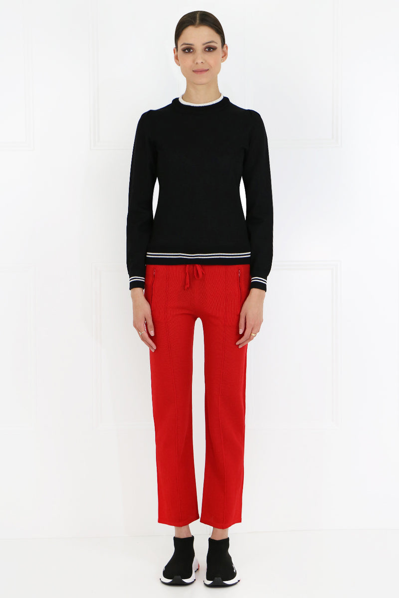 ETOILE DOBBSY TRACKPANT RED