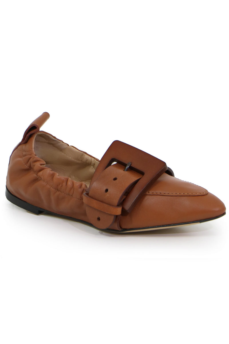 WILLY BUCKLE LOAFER SEPIA BROWN