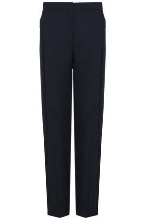 SIDE BUTTONED STRAIGHT LEG PANT NAVY