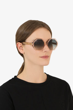 WILLOW BIO ACETATE SUNGLASSES PEACH