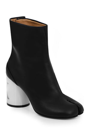 CONTRAST HEEL TABI BOOT BLACK/WHITE