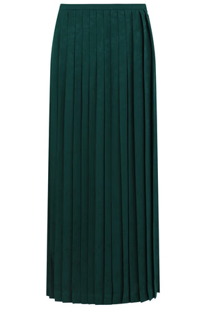 BEATRIX PLEAT SKIRT GREEN