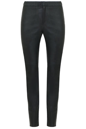 ETOILE IANY LEATHER PANTS BLACK