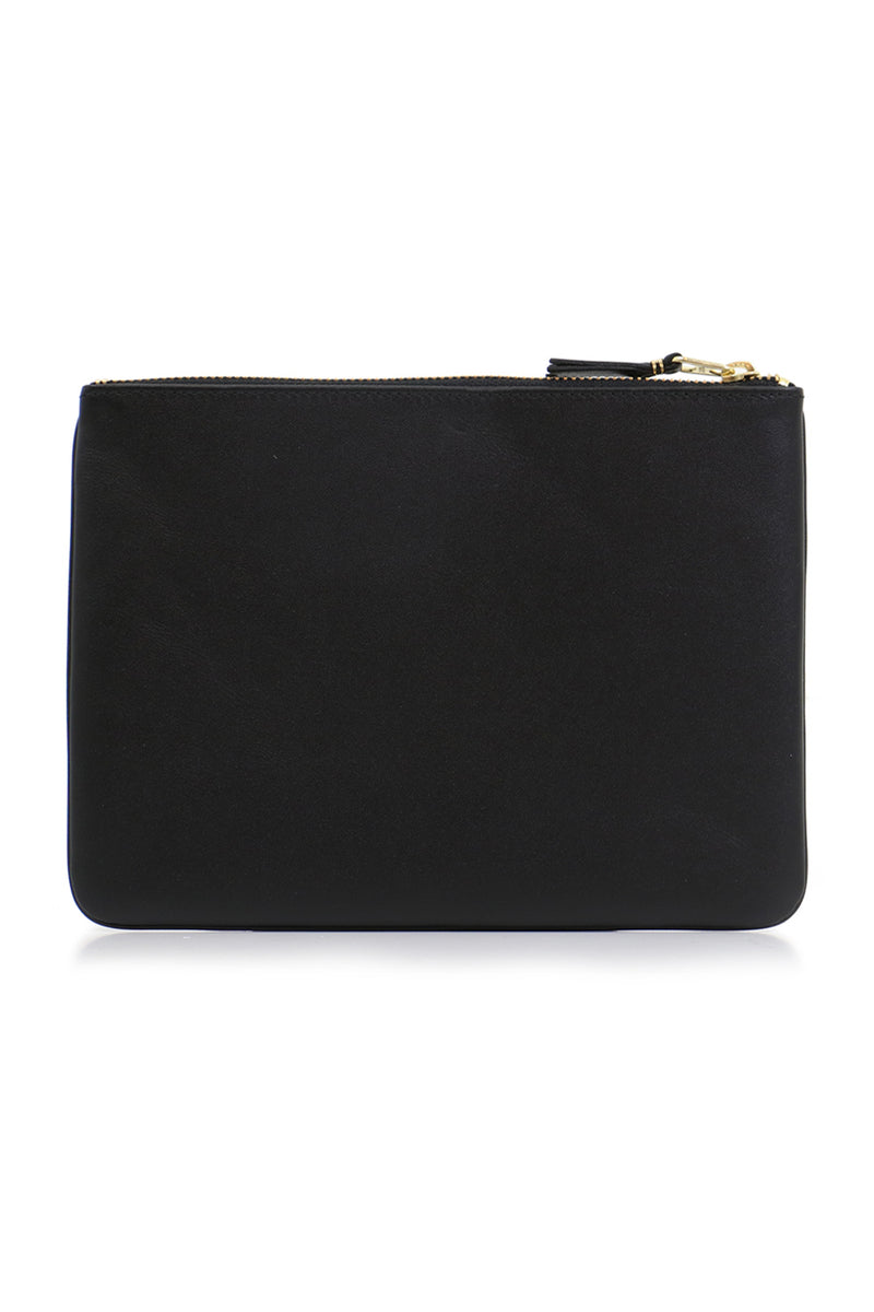 CLASSIC LEATHER POUCH BLACK