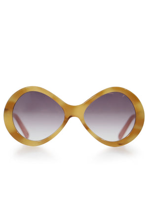 BONNIE INFINITY SUNGLASSES HAVANA/PURPLE