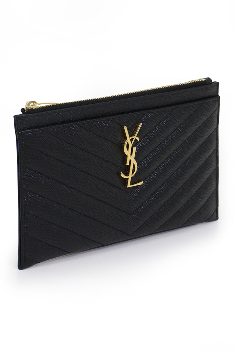 MONOGRAMME BILL POUCH BLACK/GOLD