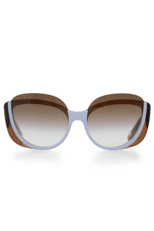 CAYLA BUTTERFLY SUNGLASSES NUDE