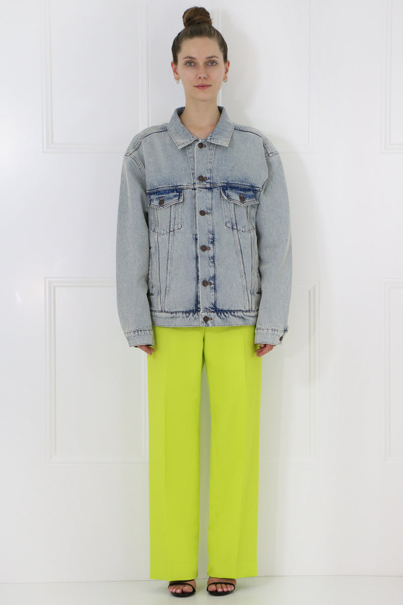 STRAIGHT LEG PANT CITRUS YELLOW