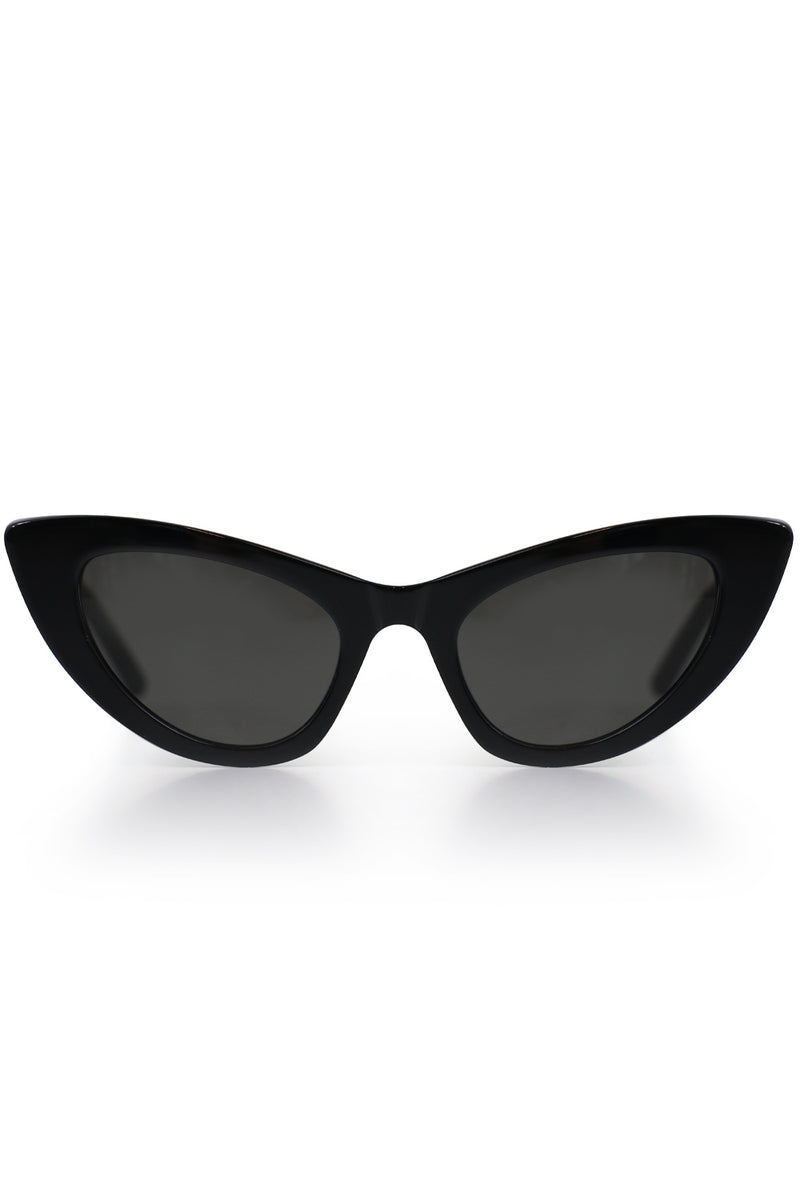 LILY ROUND CAT EYE SUNGLASSES ACETATE