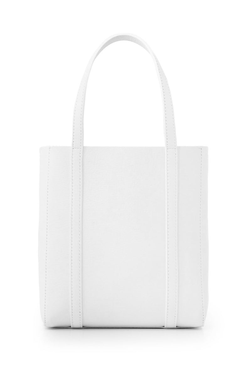 XXS EVERYDAY LOGO SHOPPER WHITE/BLACK