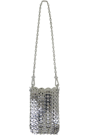 MINI MESH DISC BAG SILVER