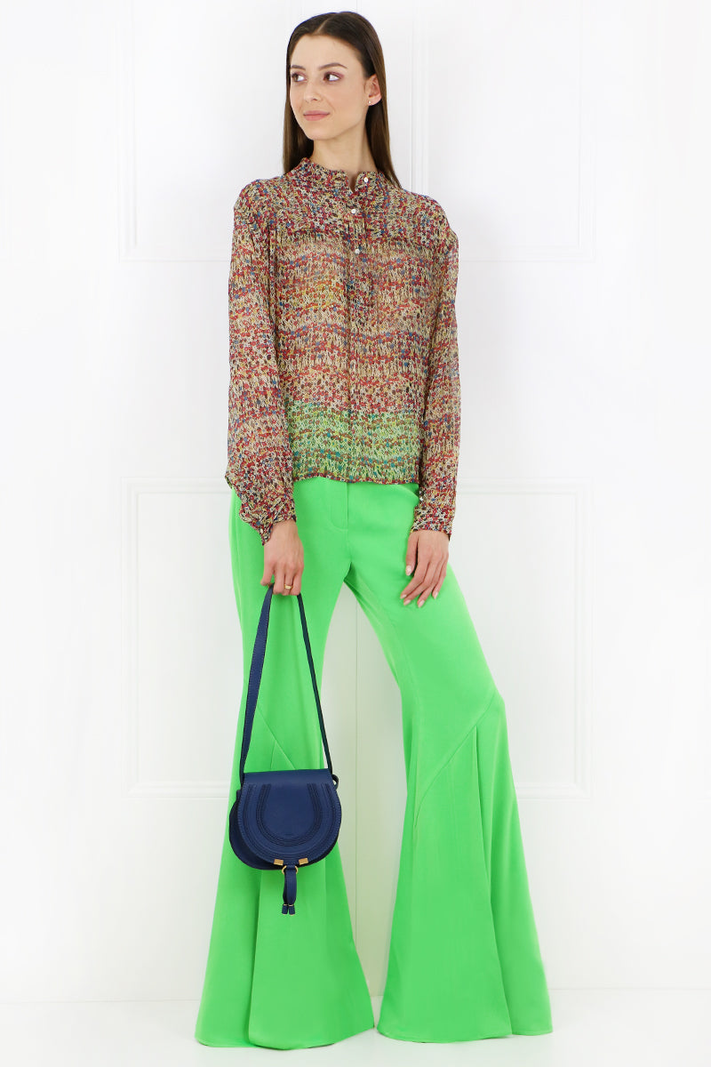 HIGHER AND HIGHER WIDE LEG PANT GREEN