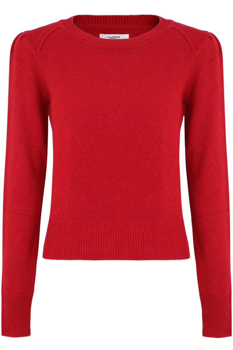 ETOILE KLEELY L/S KNIT RED