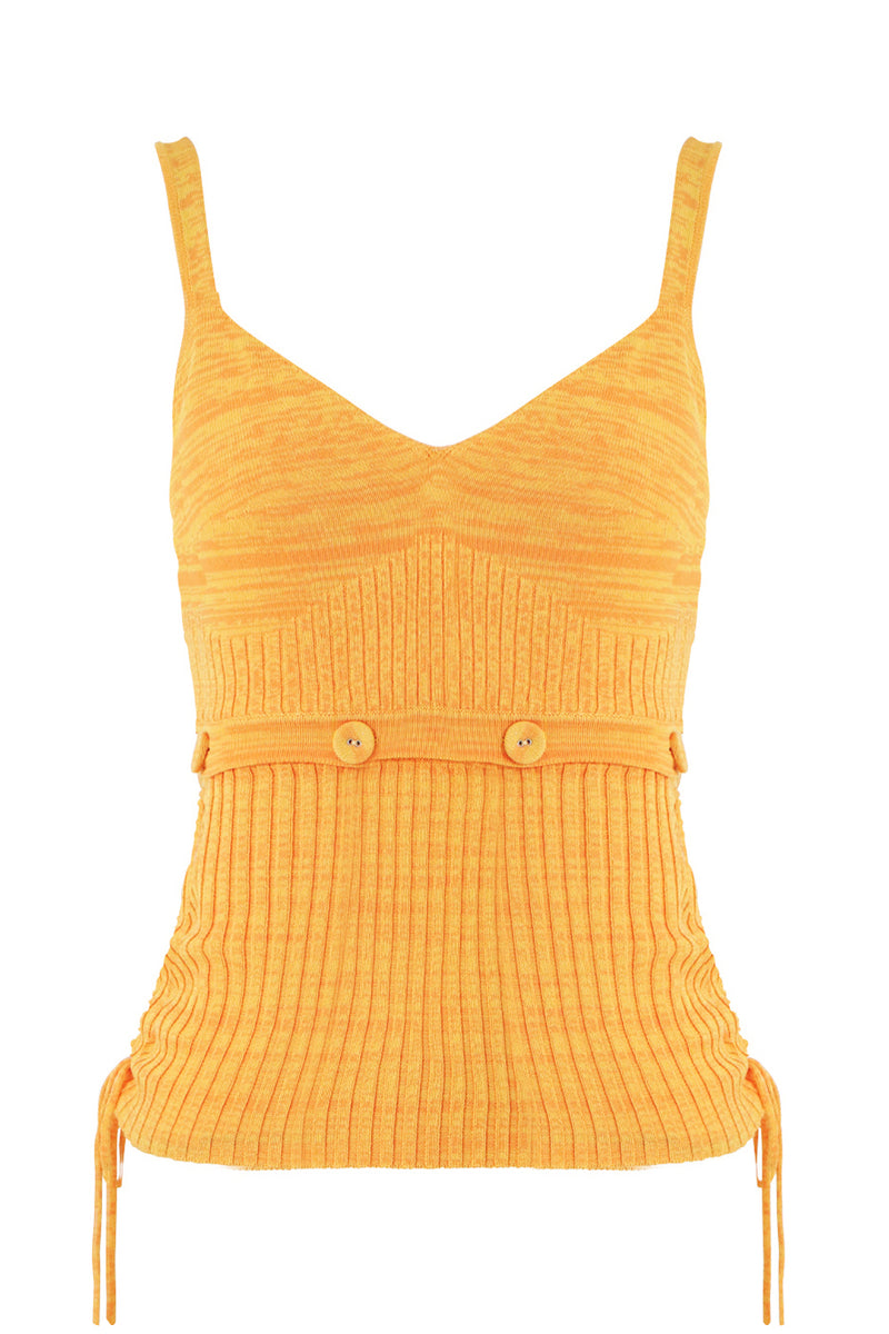 DECONSTRUCTED KNIT CAMI S/LESS MANGO MARLE