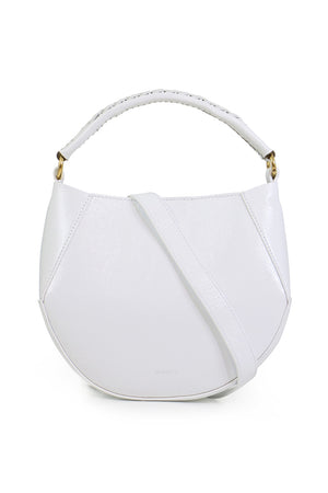 CORSA MINI BAG WITH BRAIDED HANDLE MOUNTAIN WHITE