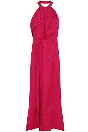 MARCO HALTERNECK DRESS PINK