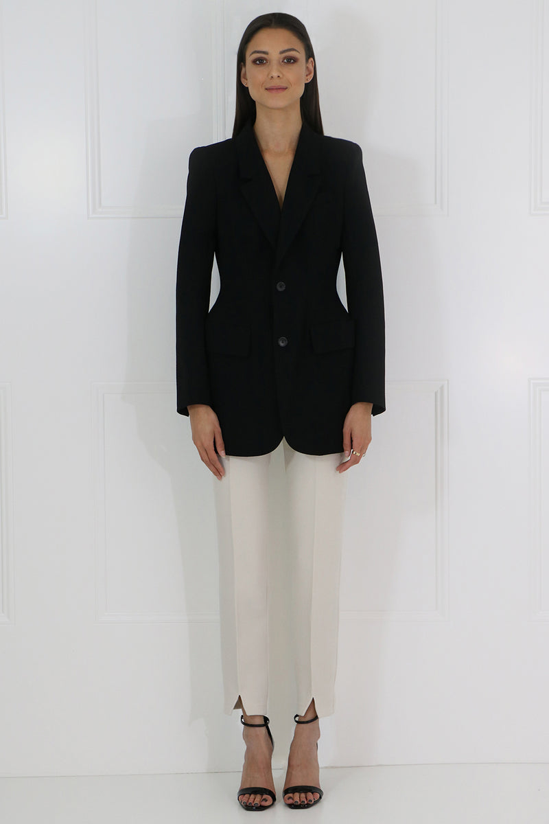 TAILORED PANTS LIGHT BEIGE