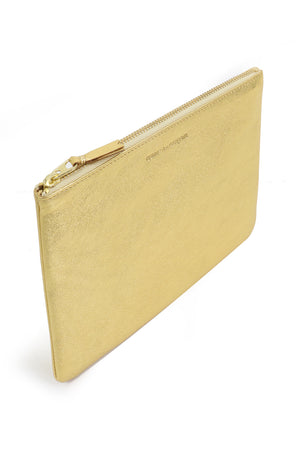 CLASSIC LEATHER POUCH GOLD