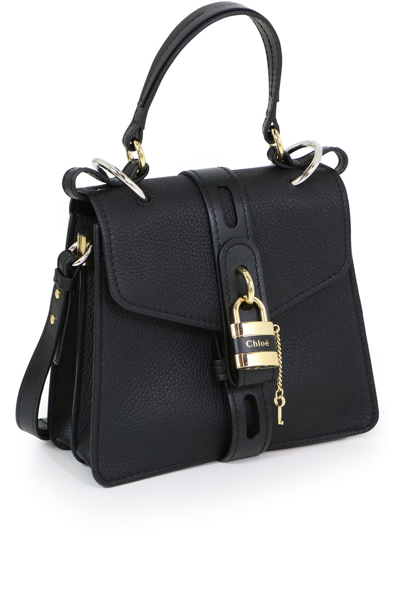 SMALL ABY BAG WITH LOCK BLACK