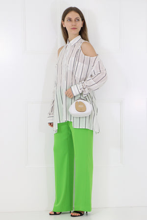 RELAXED FIT PANT APPLE GREEN