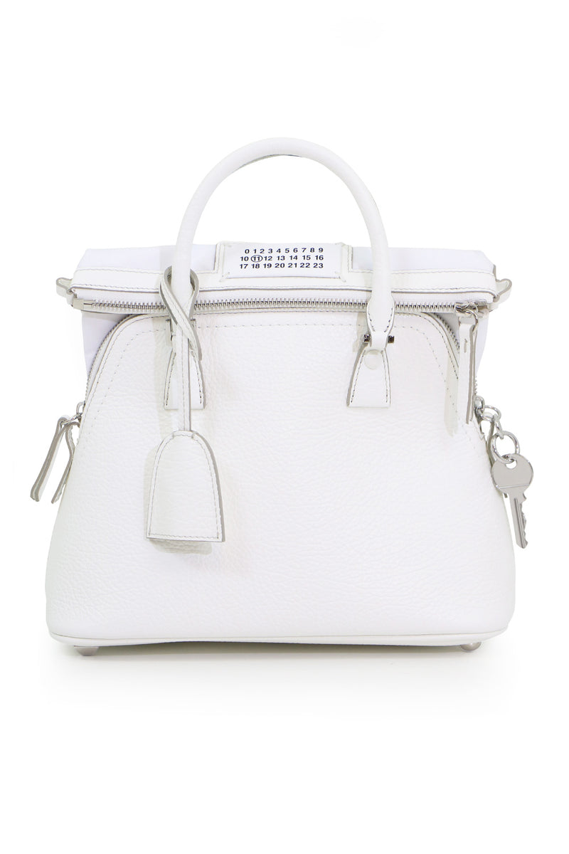 5AC SMALL BAG WHITE