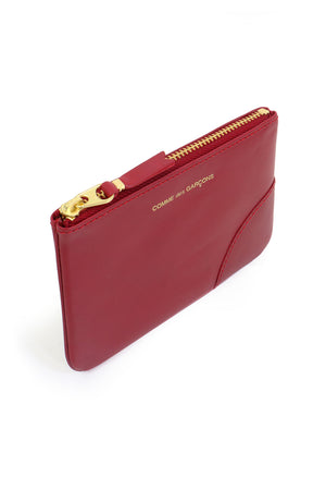 SMALL CLASSIC LEATHER POUCH RED