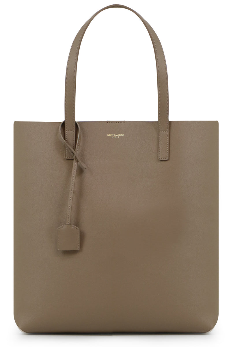 NORTH/SOUTH SHOPPING TOTE DUSTY GREY