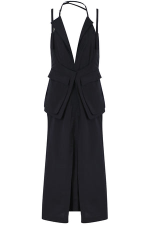LA ROBE ASCEA DRESS BLACK