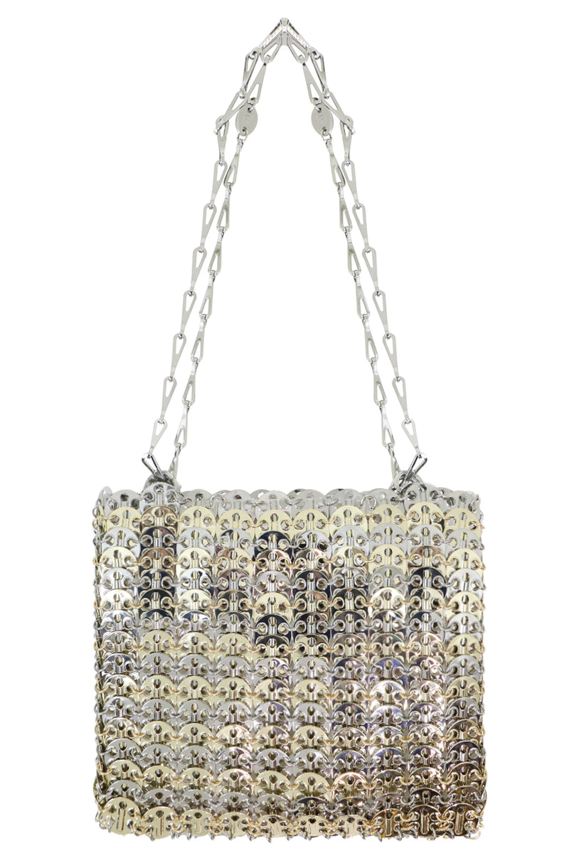 MESH DISC BAG SILVER/GOLD