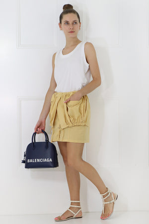 LA CUEILLETTE MINI SKIRT YELLOW